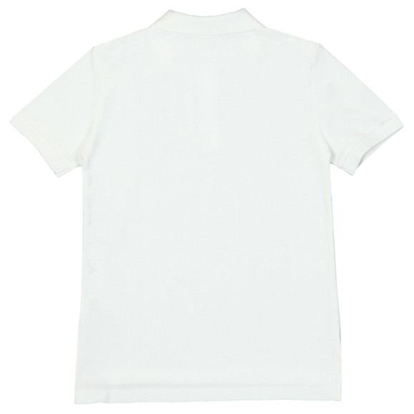 Polo Ralph Lauren Boys White Pique Polo Shirt