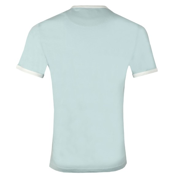 Lyle and Scott Mens Blue Ringer Tee main image