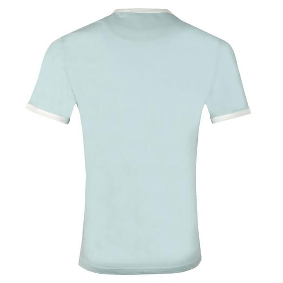 Lyle and Scott Mens Blue Ringer T-Shirt main image