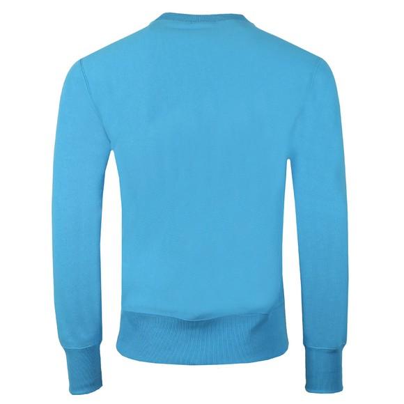 Champion Reverse Weave Mens Blue Script Logo Sweatshirt main image