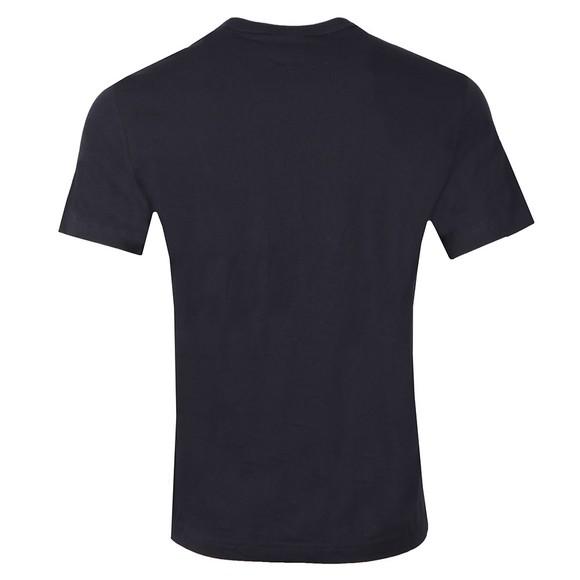 Champion Mens Blue Reverse Weave Script Logo T Shirt main image