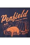 Penfield Mens Blue Hubbard Tee