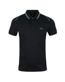 BOSS Mens Black Athleisure Paule 1 Polo Shirt