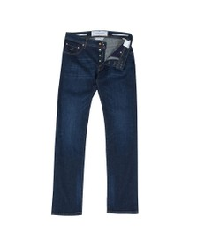 Jacob Cohen Mens Blue J622 Comfort Tailored Jean