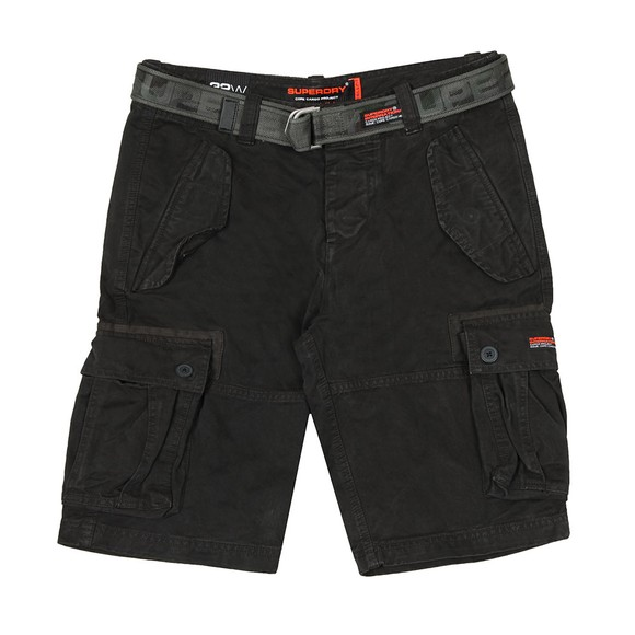 Superdry Mens Black Core Cargo Heavy Short main image