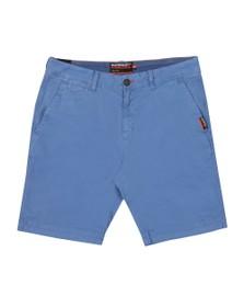 Superdry Mens Blue International Slim Chino Lite Short