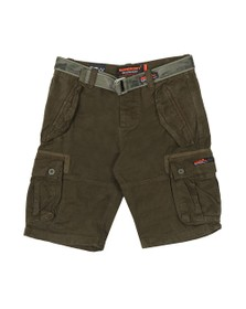 Superdry Mens Green Core Cargo Heavy Short