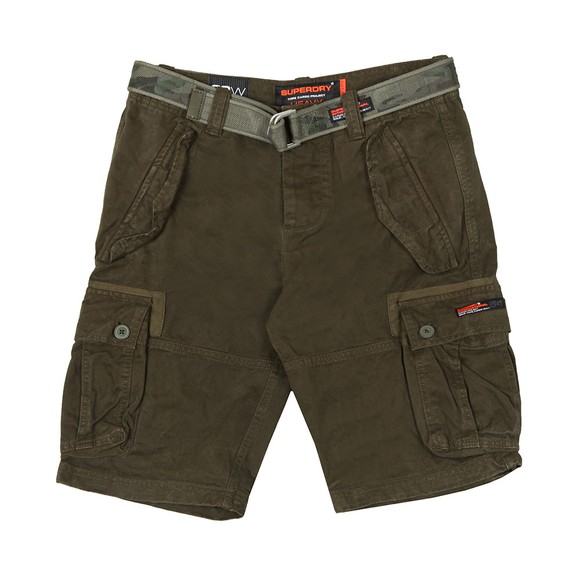 Superdry Mens Green Core Cargo Heavy Short main image