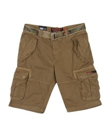 Superdry Mens Brown Core Cargo Heavy Short