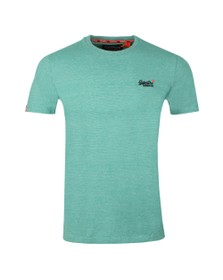 Superdry Mens Green Vintage Embroider Tee