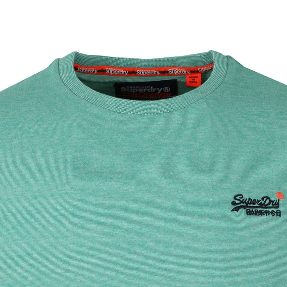 Superdry Mens Green Vintage Embroider Tee main image