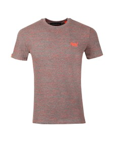 Superdry Mens Red Vintage Embroider T-Shirt