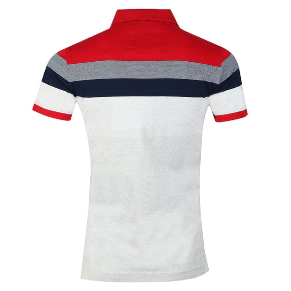 Superdry Mens Multicoloured Miami Feeder Polo main image