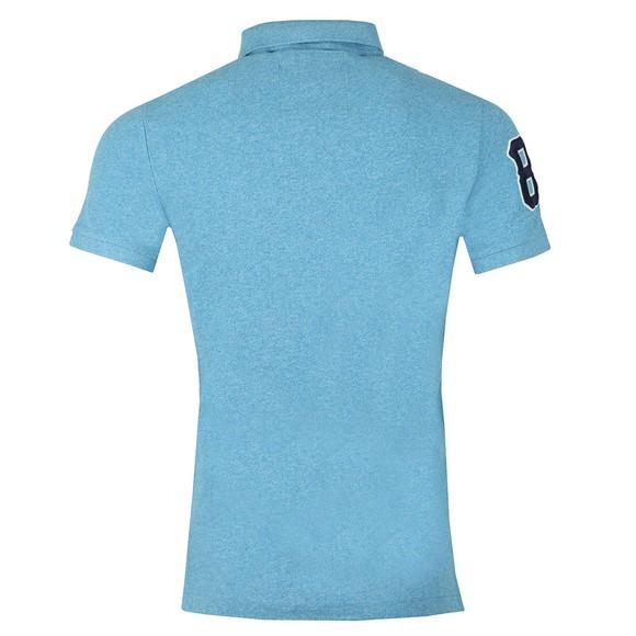 Superdry Mens Blue Classic Pique Polo main image