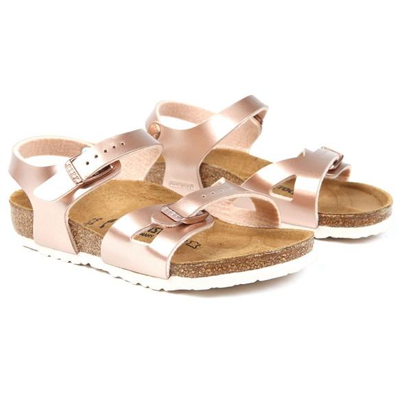 Birkenstock Girls Pink Rio Girls Sandal