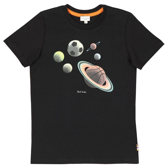 Paul Smith Junior Boys Black Titus T Shirt main image