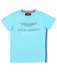 Hackett Boys Blue AMR Wing T Shirt