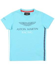 Hackett Boys Blue AMR Wing T Shirt