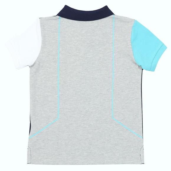 Hackett Boys Blue Aston Martin Polo Shirt main image