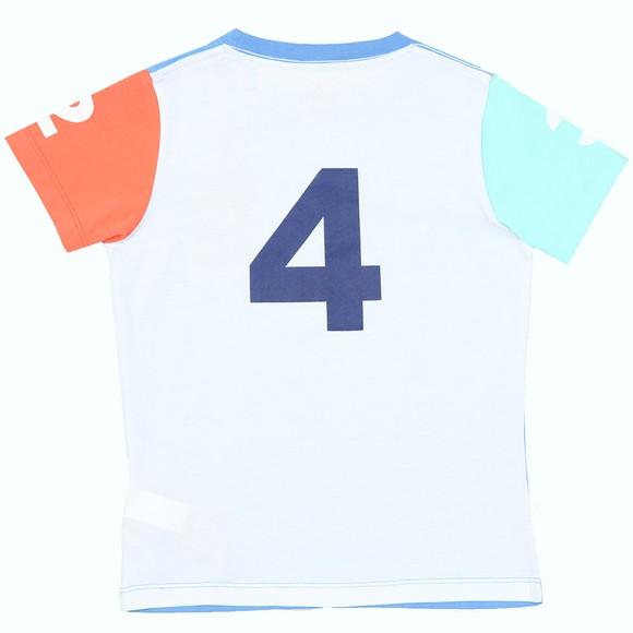 Hackett Boys Blue Multi Number T Shirt main image