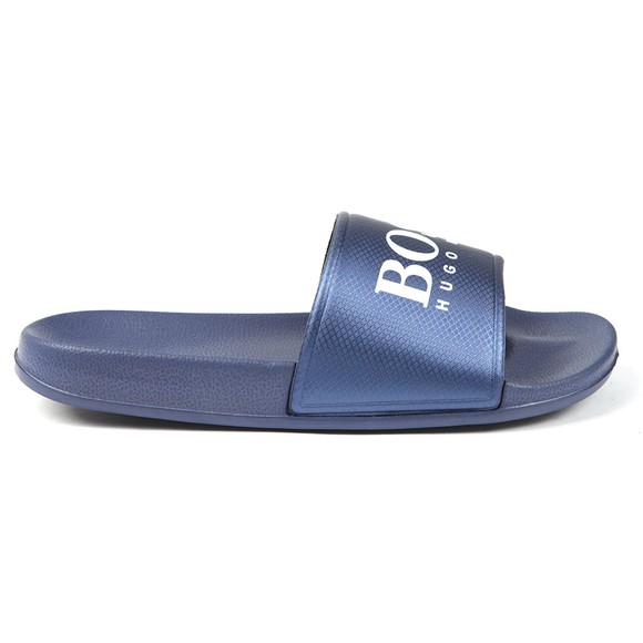 BOSS Boys Blue Metallic Slide main image