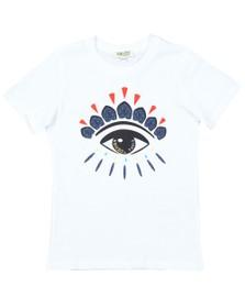 Kenzo Kids Boys White Flavio Wax Kenzo T Shirt