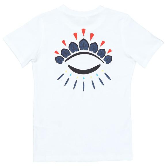 Kenzo Kids Boys White Flavio Wax Kenzo T Shirt main image