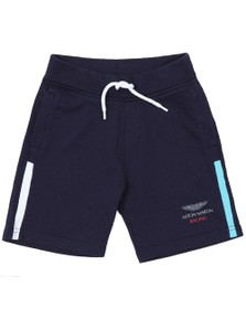 Hackett Boys Blue Jersey Navy Short