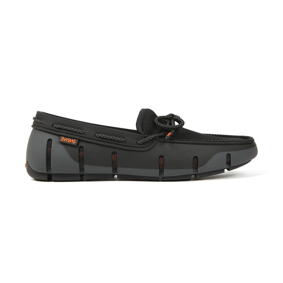 Swims Mens Black Stride Lace Loafer main image