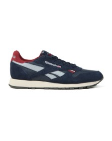 Reebok Mens Blue Classic Nylon Trainer