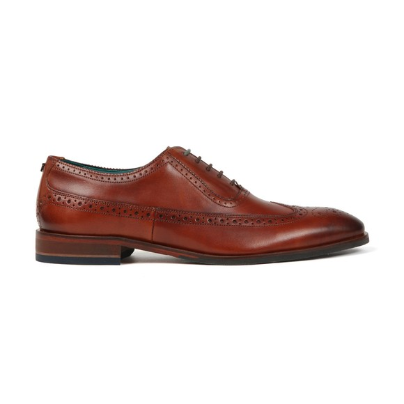 Ted Baker Mens Brown Ascone Contemporary Longwing Brogue