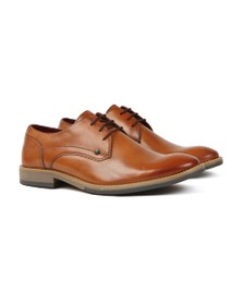 Base London Mens Brown Ridley Shoe
