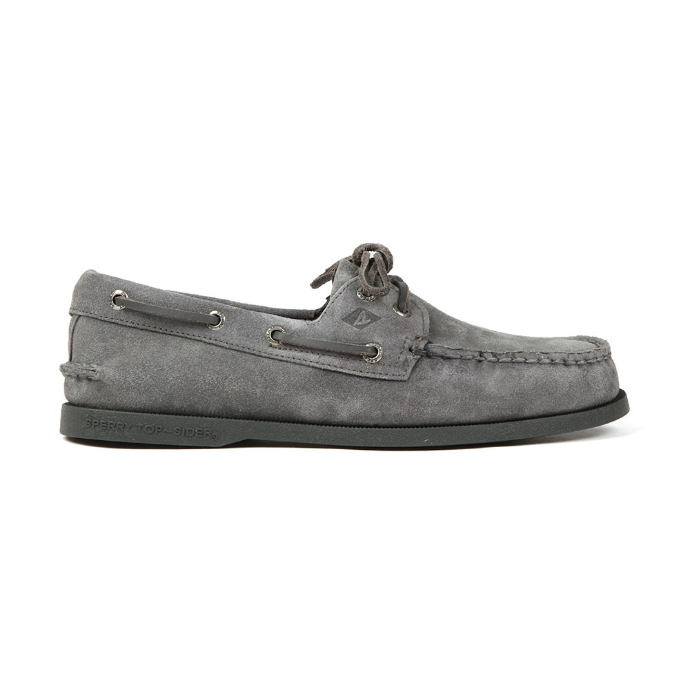 A/O 2 Eye Suede Boat Shoe main image