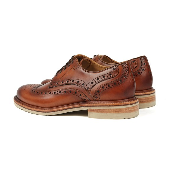 Oliver Sweeney Mens Brown Stogumber Brogue main image