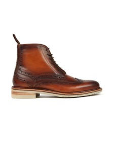 Oliver Sweeney Mens Brown Monsilver Brogue Boot