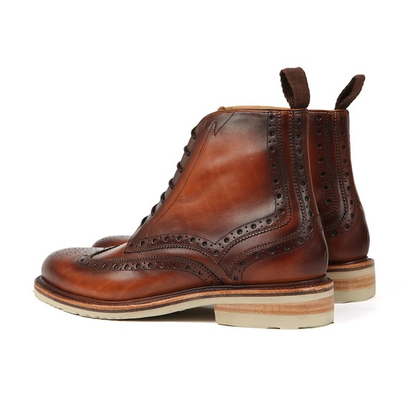 Oliver Sweeney Mens Brown Monsilver Brogue Boot main image
