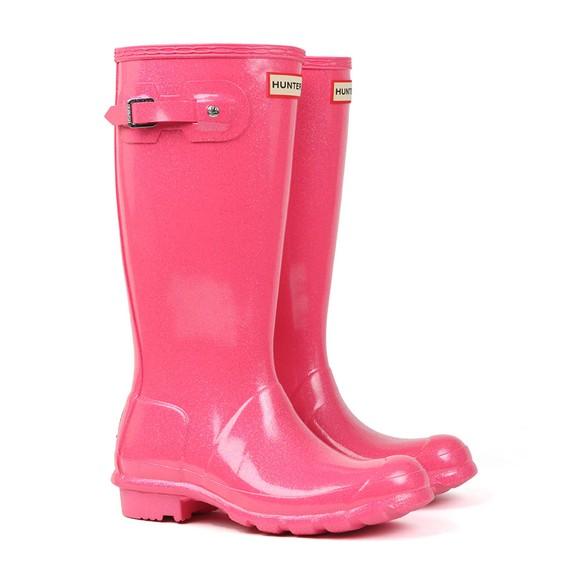 Hunter Unisex Pink Kids Original Starcloud Boot