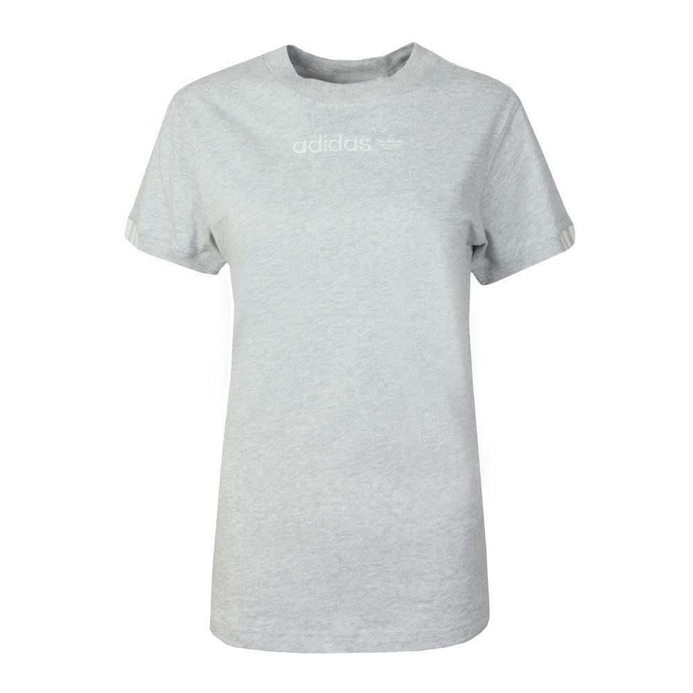 27a6de8c adidas Originals Womens Grey Coeeze T-Shirt