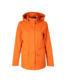 Barbour Lifestyle Womens Orange Backshore Jacket