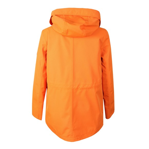 Barbour Lifestyle Womens Orange Backshore Jacket main image
