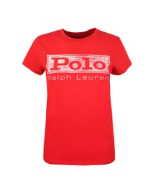 Polo Ralph Lauren Womens Red Polo PRD T Shirt