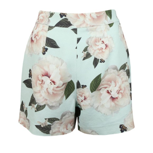 Ted Baker Womens Green Noosam Magnificent Textured Short main image