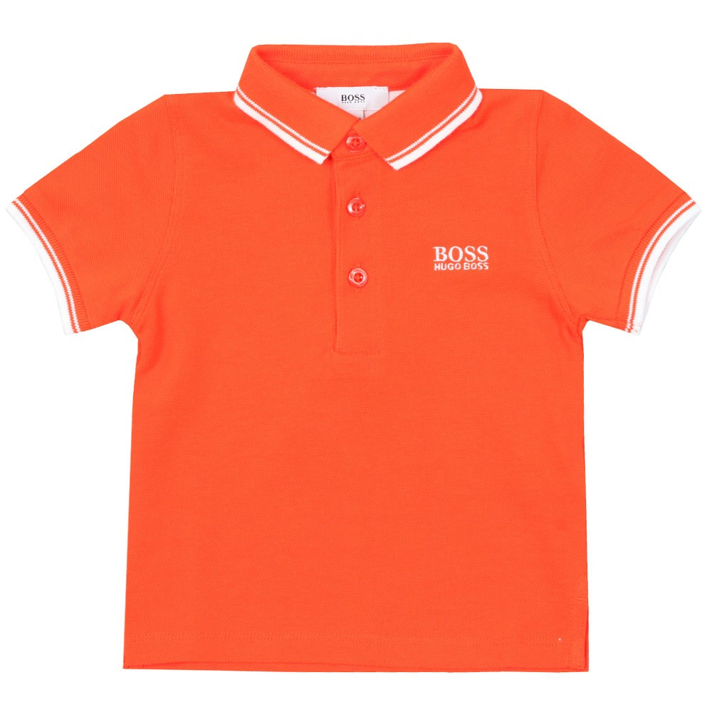 b708e37ddb788 BOSS Baby Tipped Polo Shirt