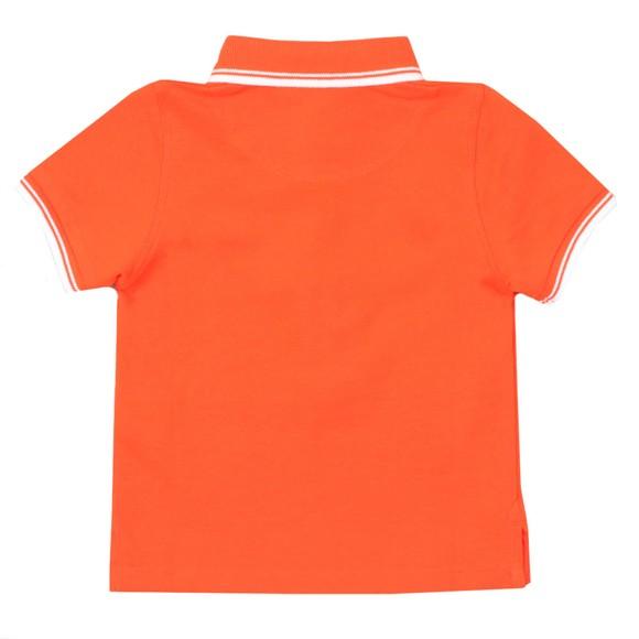 BOSS Baby Boys Orange Tipped Polo Shirt main image