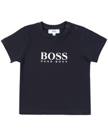 BOSS Baby Boys Blue Logo T Shirt