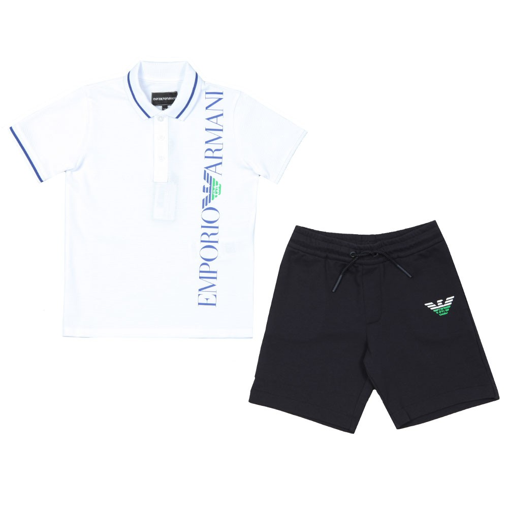 Side Logo Polo & Short Set main image