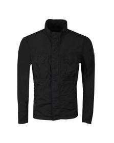 Belstaff Mens Black Erwin Crinkle Jacket