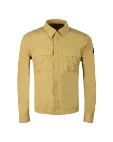 Belstaff Mens Yellow Ollerton Overshirt