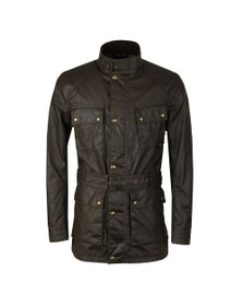 Belstaff Mens Green Trialmaster Wax Jacket