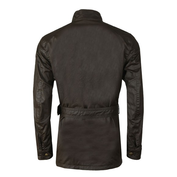 Belstaff Mens Green Trialmaster Wax Jacket main image